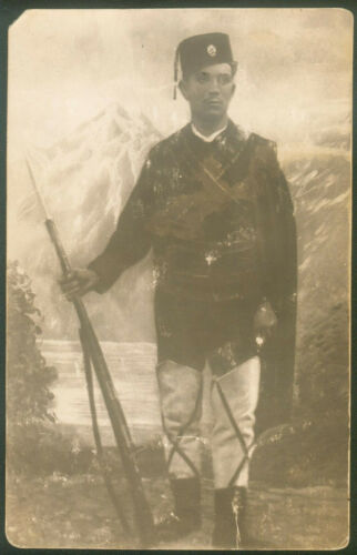 SERBIA KINGDOM CHETNIK KOMITA PHOTO