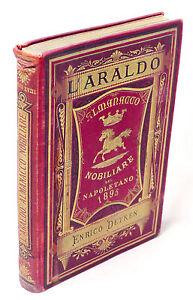 Araldica-L-039-Araldo-Almanacco-nobiliare-del-napoletano-Anno-XVIII-1895