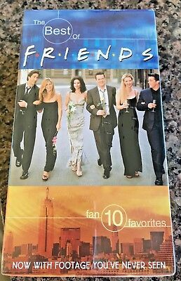 1990's TV show Friends, The Best Of Friends Volume 1 & 2 VHS Video Tapes (Best Tv Shows 1990)