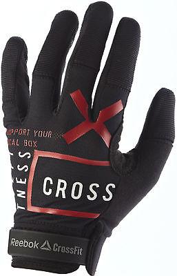 Reebok Crossfit Femme Gants d'entraînement Noir Gants