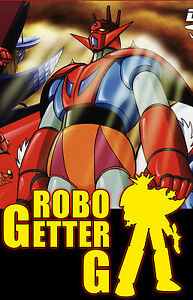 Getter Robo G DVDs (Japanese Audio + English Subtitle)
