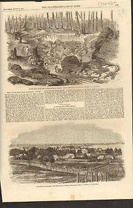 8-18-1860-01-0025-ANTIQUE-PRINT-CANADA-MONTREAL-COPPER-MINE-BATHURST