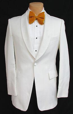 Boys White Tuxedo Dinner Jacket Halloween Costume Hefner James Bond Spy 007  - Hefner Halloween Costume