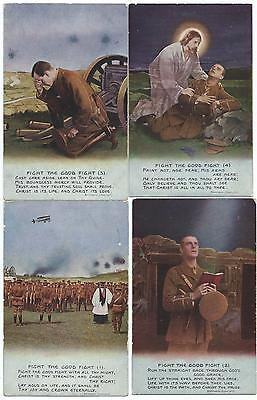 """BAMFORTH - """"FIGHT THE GOOD FIGHT"""" Set of 4 Song Cards 4870/ 1-4"""