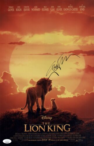 JON FAVREAU Signed THE LION KING 11x17 Photo In Person Autograph JSA COA