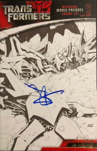 Transformers SHIA LABEOUF SIGNED Comic Book - Movie Prequel Issue 2 - Proof
