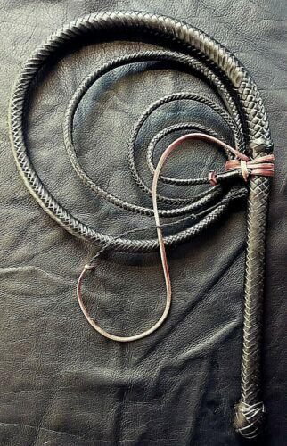 12 plait 8ft Kangaroo leather Bull Whip