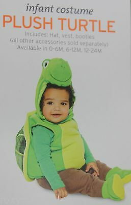 Halloween Infant Plush Green Turtle Costume Size 0-6 months NWT - Baby Turtle Halloween Costumes