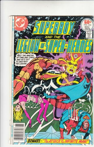Superboy And The Legion Of Super-Heroes #233 Comic Book DC Fine