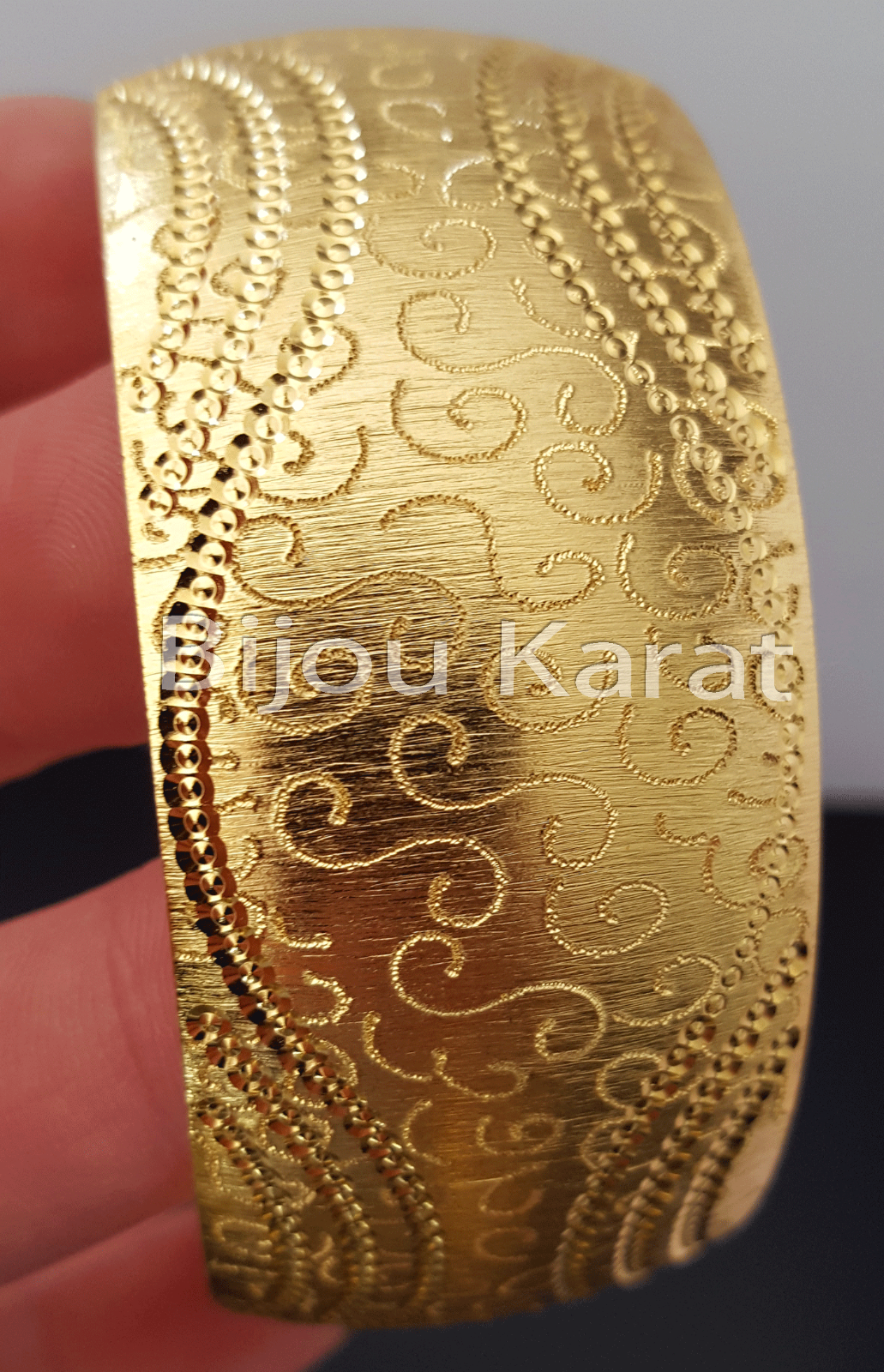 Trabzon Bilezik Bombey Türkische Gold Armreif Armreifen 22 Ayar Altin Kaplama