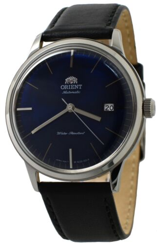 Orient Bambino Version 3 FAC0000DD0 Blue Dial Black Leather Band Men's Watch