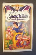 Walt Disney Snow White VHS