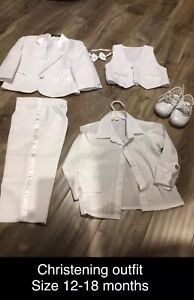 12-18 months christening outfit