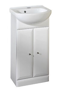 Valencia 420mm Bathroom Vanity Unit By Roper Rhodes White Finish