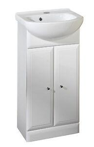Valencia 420mm Bathroom Vanity Unit By Roper Rhodes White Finish