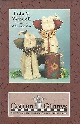 LOLA & WENDELL Cotton Ginnys Fun Easy Craft Pattern 11
