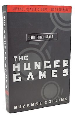 The Hunger Games First Edition Suzanne Collins Advance Reading Rare Book