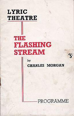 The Flashing Stream by Charles Morgan, Lyric Theatre, London, 1938