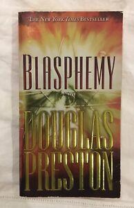 Blasphemy, a fiction novel by Douglas J Preston (bestseller) Bentleigh East Glen Eira Area Preview