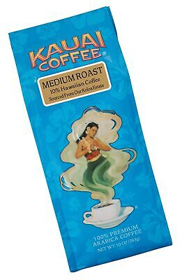 Kauai Hawaiian Ground Coffee, Koloa Estate Medium Roast (10 oz Bag) - 100% Pr...