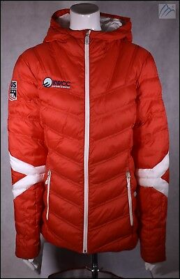 SPYDER USST USA US SKI TEAM OFFICIAL ISSUE INSULATED JACKET WOMENS M