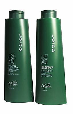 Joico Body Luxe Volumizing Shampoo and Conditioner for Fine Hair 33.8 oz each