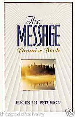 The Message Promise Book By Eugene H. Peterson