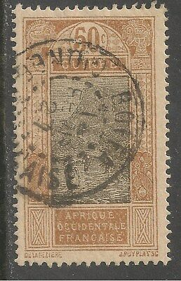 French Guinea #88 (A6) VF USED - 1925 50c Ford at Kitim