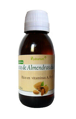 Aceite de almendras dulces 125 ml. Sweet Almond oil 125ml