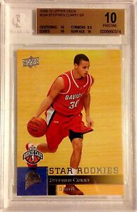 Stephen Curry 09-10 Upper Deck RC Pristine BGS 10!