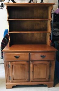 Vintage / Antique - Vilas - Welsh Solid Maple Dresser