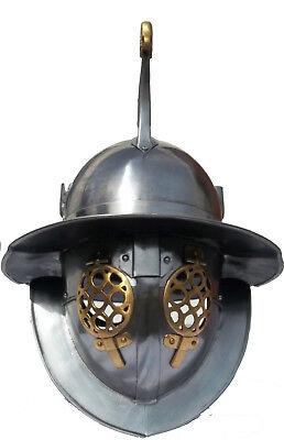 Brachialer Thraker Gladiator Helm Halloween Mittelalter Cosplay Lorica 3128