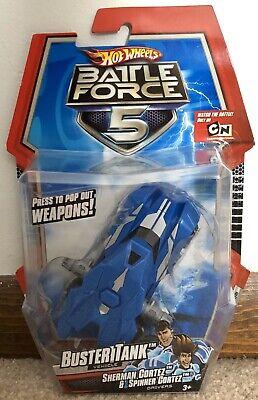 Hot Wheels Battle Force 5 (Cartoon Network) - Buster Tank Vehicle - Mattel 2009