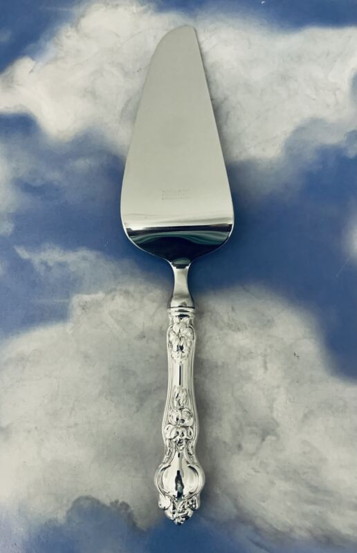VIOLET BY WALLACE  STERLING SILVER CAKE / PIE SERVER HIGH GRADE