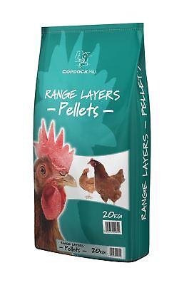 Copdock Mill Range Layers Pellets Poultry Feed 20 Kg