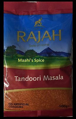 TANDOORI MASALA MIX - 100g - RAJAH - HIGH QUALITY
