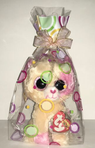 """TY ANABELLE CAT 6"""" BEANIE BOOS-NEW W/TAG-HTF-SMUDGED EYES-SO SWEET***PLEASE READ"""