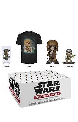 Funko Pop! Star Wars: Smugglers Bounty Box - Wookie With Size Large T-shirt