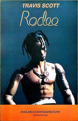 TRAVIS SCOTT Rodeo Ltd Ed Discontinued RARE New Poster +FREE Hip-Hop/Rap Poster!