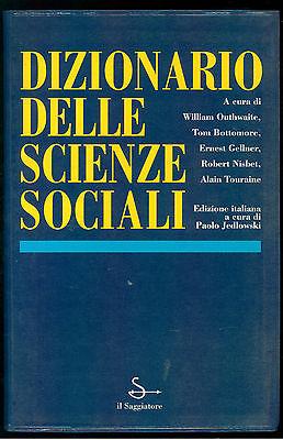 AA. VV. DIZIONARIO DELLE SCIENZE SOCIALI IL SAGGIATORE 1997 REFERENCE