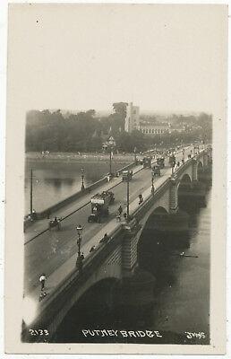 Putney Bridge (Putney Bridge, Johns postcard)