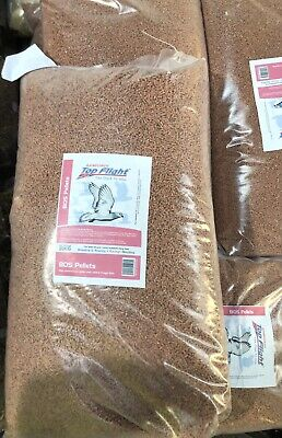 BOS Pigeon Pellets Food Seed by Bamfords Top Flight 20kg BMFD DS