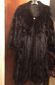 Manteau en Vison / Mink fur coat