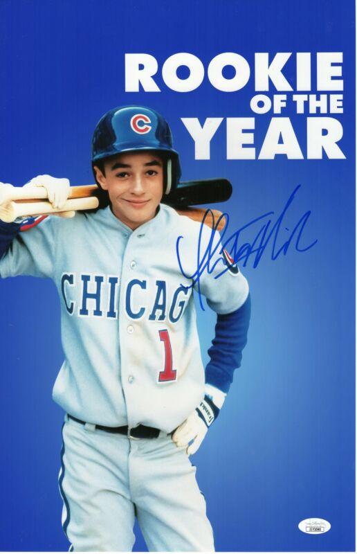 Thomas Ian Nicholas Autograph 11x17 Photo Henry Rookie of the Year Signed JSA CO