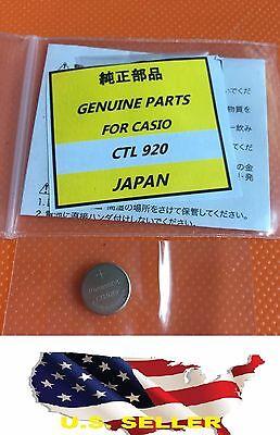 ❶❶new Panasonic Ctl920f Battery Casio G-shock Edifice Wav...