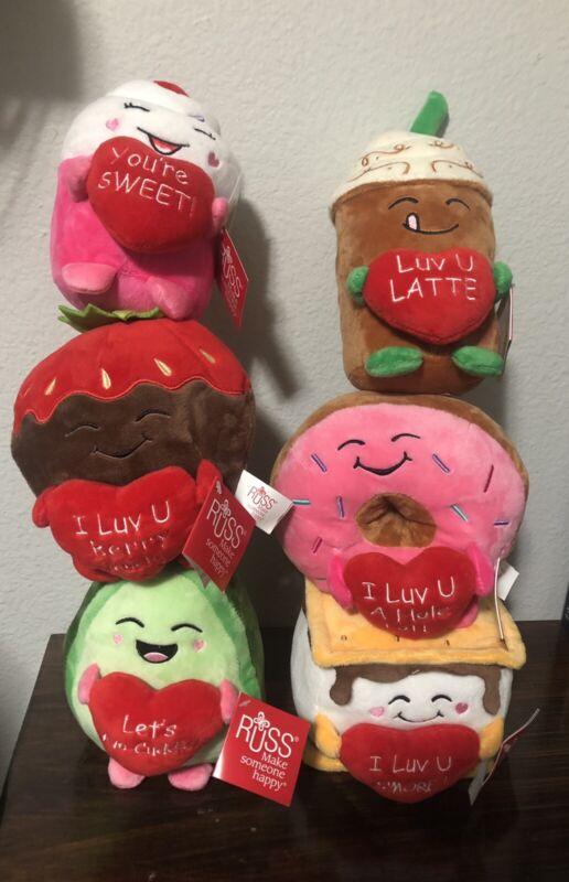 "Russ Donut Plush ""I Luv U A Hole Lot!"" Valentines Day 2021 CVS Butt TikTok Viral"