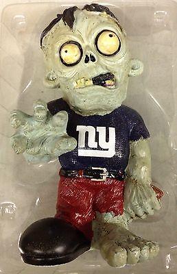 NY New York Giants - ZOMBIE - Decorative Garden Gnome Figure Statue NEW - Ny Giants Decor