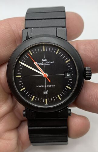IWC Porsche Design Automatic Compass Watch Ref. 3510 - watch picture 1