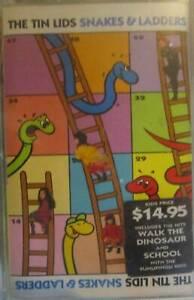 ***RARE*** The Tin Lids - Snakes & Ladders Cassette (Like New)