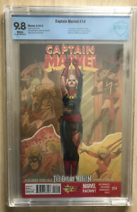MARVEL COMICS CAPTAIN MARVEL #14, 2014 9.8